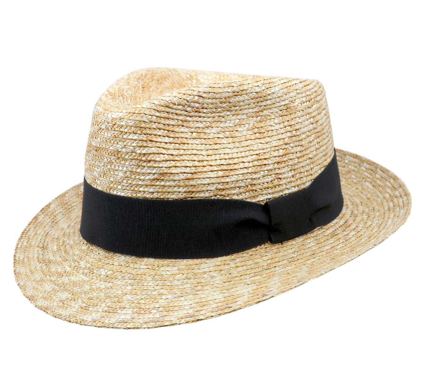 fedora paille Classic fedora paille