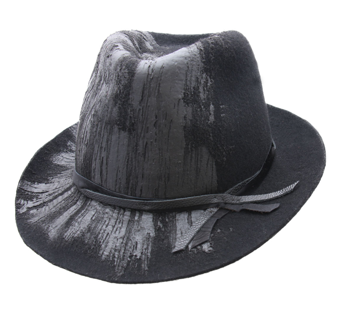 Chapeau rubber wool