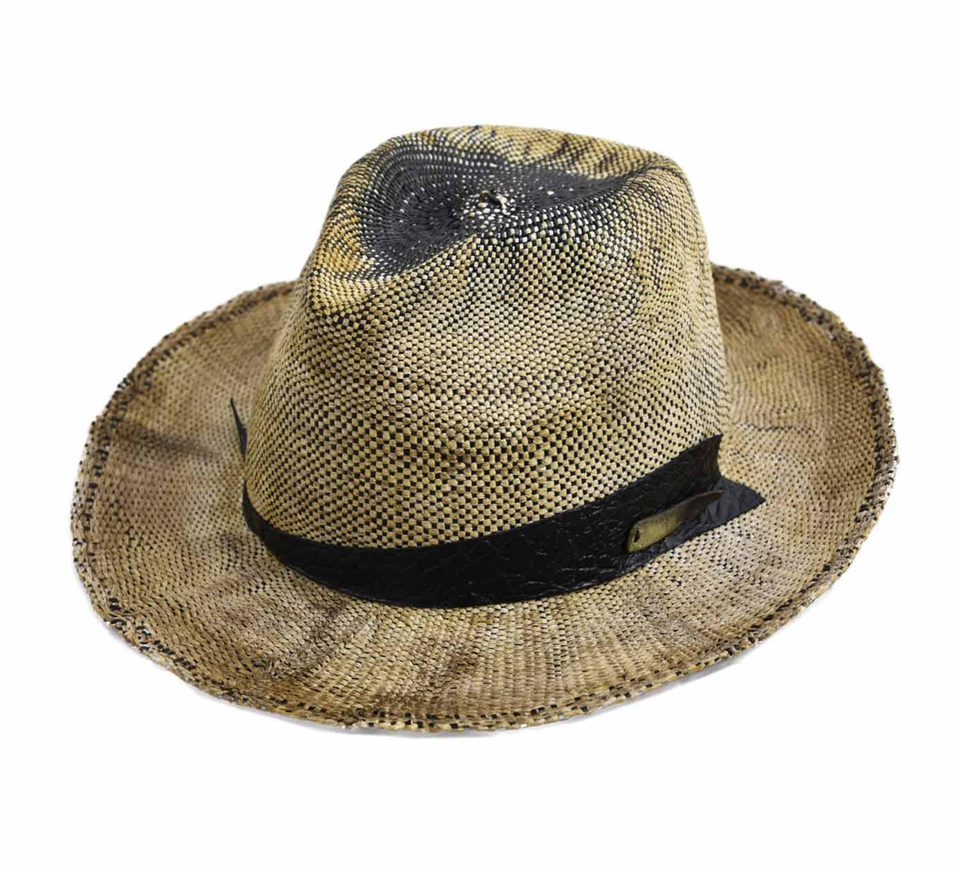 où acheter professionnel de premier plan style attrayant Détails sur Chapeau fedora paille homme ou femme Bonny