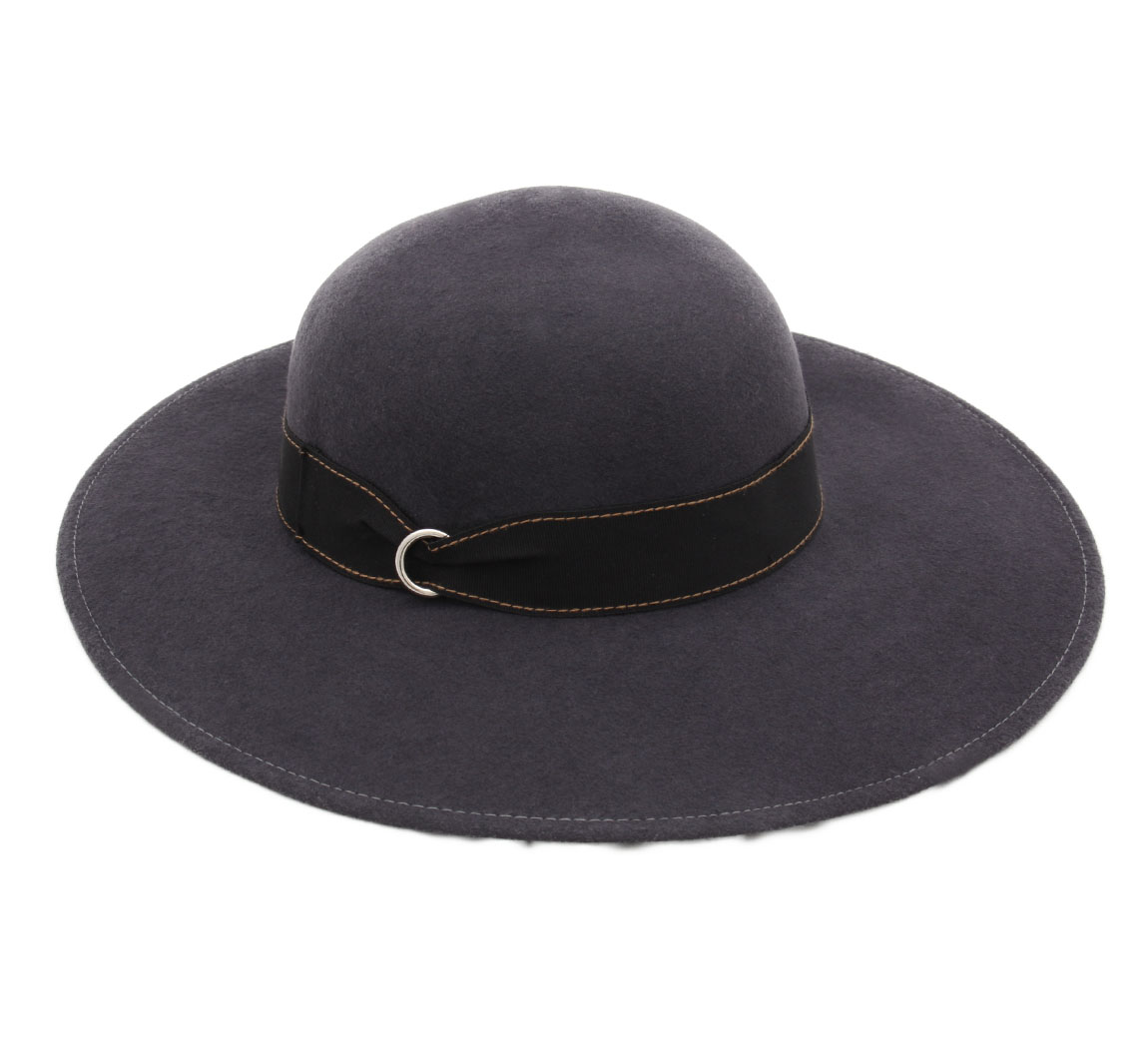 Feutre Cloche long brim