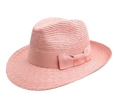 Classic fedora paille large